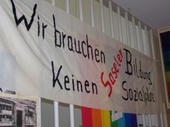 Sasel - unsere Bildungsstätte in Hamburg - die brauchen wir!
